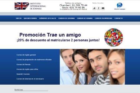 Academia de ingles Madrid Centro